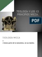 8.- Teología y los 13 Principios Wicca