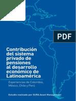 El Sistema Privado de Pensiones en Latinoamerica
