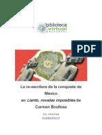 La reescritura de la conquista de México