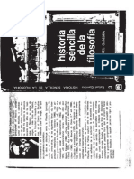 1961. Historia sencilla de la filosofía. Rafael Gambra