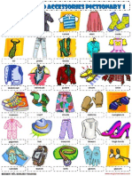 clothes pictionary 1 poster vocabulary worksheet.pdf