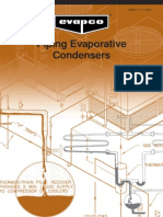 Piping Eveporative COndensers
