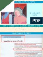4.4.3. ACTI TEC Identificar El TEMA Del Texto Para PDF