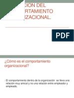 Evolucion Del Comportamiento Organizacional