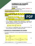 Aula 13 - Cap. 18 Nilson - Transformada de Fourier