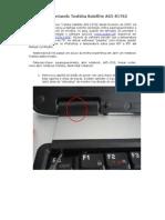 Abrindo Notebook Toshiba A65-S1762