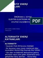ALTERNATİF ENERJİ KAYNAKLARI-ek