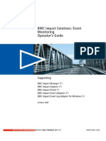 BMC Impact Solutions 7.1 - Event Monitoring Operator's Guide - 83756