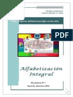 ALFABETIZACIÓN INTEGRAL- TRABAJO