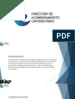 Presentación para tutores - Programas DAU
