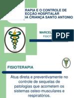 FISIOTERAPIA E O CONTROLE DE INFECÇÃO HOSPITALAR.ppt