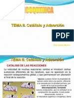 Tema II. Adsorcion y Catalisis (1)