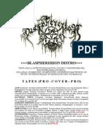 Blasphererion Distro (20!02!2013)