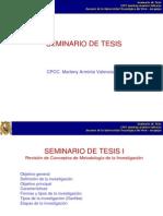 (1) Seminario de Tesis