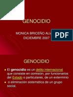 Politicas Sobre Genocidio