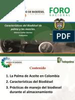Caracteristicas del Biodiésel y sus mezclas V1