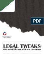 Legal Tweaks - 2012