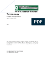 Tabulation of Asbestos Related Terminology OFR 02 458 508