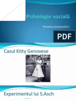 Suport de Curs - Psihologie Sociala I Completare