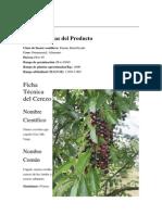 Cultivo Del Cerezo