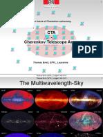 CTA the Future of Cherenkov Astronomy