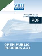 OPRA Booklet