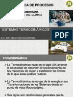1.Sistemas Termodinámicos