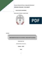 Informe de Practicas Pre Profesionales I y II