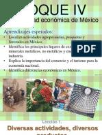 1.- Diversas Actividades, Diversos Productos 2012-2013