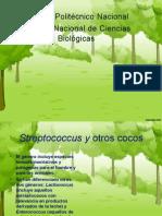 Bacter Streptococcus, Enterocccus y Generos Asociados