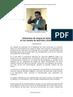 Burad Interpretes TV Chile