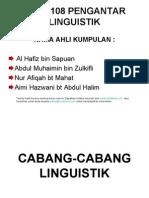 Cabang-cabang Linguistik