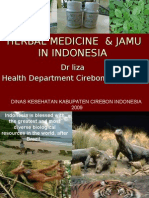 Herbal Medicine in Indonesia