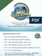 2013-12-05 Mb Cluster Jt Ppt