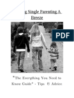 Making Single Parenting A Breeze