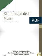 Liderazgo de La Mujer en Mexico