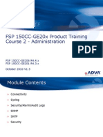 Adva - Training - FSP 150CC-GE20x R4.x Course - 2 - Administration