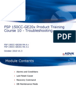 Adva - Training - FSP 150CC-GE20x R4.x Course - 10 - Troubleshooting