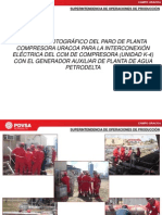 Reporte Paro de Planta Compresora 24-10-13