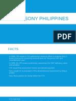 CIR vs Sony Philippines