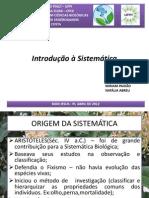seminriointroduosistemtica-121104223807-phpapp01