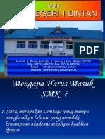 1- Promosi SMKN 1 Bintan-2012