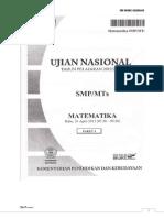 Pembahasan Mtk UN 2013 Paket 04