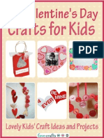 24 Valentines Day Crafts for Kids Lovely Kids Craft Ideas and Projects