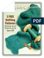 0213 SO 5 FREE Scarf Patterns 02