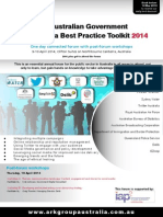 The Australian Government Social Media Best Practice Toolkit 2014