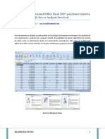 Habilitar MicroSoft Excel 2007 Dataminig