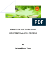 Kuliah Jarak Jauh Secara Online Untuk Tki (Tenaga Kerja Indonesia) Oleh Lazismu Jakarta Timur
