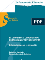 Competencia Comunicativa ESO