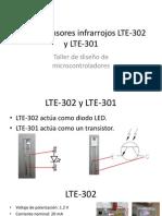 Uso de Sensores Infrarrojos LTE-302 y LTE-301
